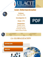 VENTAJAS GLOBALIZACION