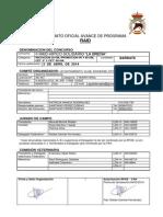 Avance de Programa de Raid 2014