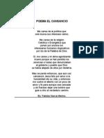 Poema El Cansancio