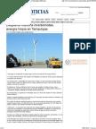 06-03-14 Despierta interés a inversionistas, energía limpia en Tamaulipas Metronoticias de Tamaulipas
