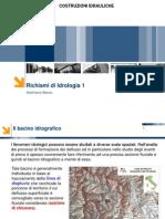 CI MI 12 Cenni Idrologia BilancioIdrologico CPP 2013
