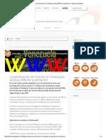 La penetración de internet en Venezuela alcanza 40% de la población _ Tendencias Digitales
