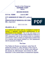 City Assessor of Cebu vs Asoc de Benevola de Cebu