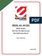 Endsl a2plus wigx2 Manual En