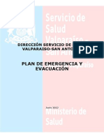 Plan Emergencia SSVSA