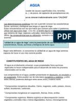 CLASE 5 2013(Agua de Riego)