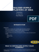 Centralized supply chain planning at ikea.pptx