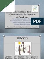 Generalidades de la Administración de Empresas de Servicios.pptx