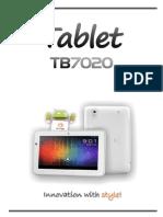 Manual TB7020