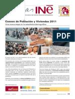 Cifras INE 2013.  Resultados fundidos del Censo de Población y de viviendas de 2011.