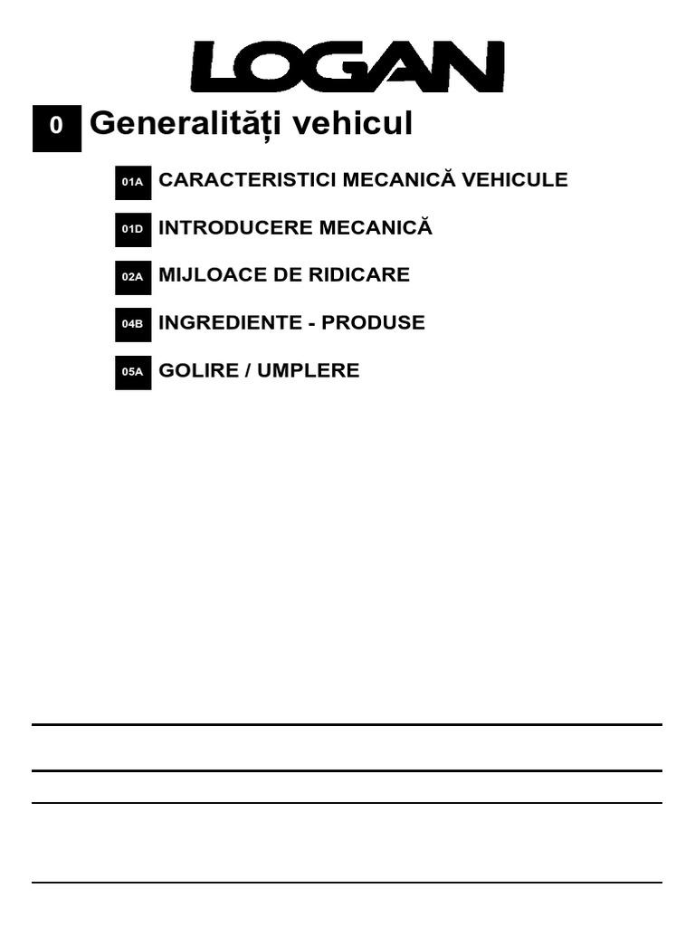 prize de fabrică prețuri incredibile calitate excelentă Dacia Logan L90 - Manual Service Ro