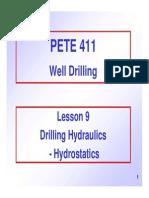 09 Drilling Hydraulics Hydrostatics
