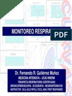 Monitorizacion Respiratoria i. 2010