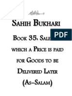 Sahih Bukhari - Book 35 - Sales in Which a Price is Paid for Goods to Be Delivered Later Salam