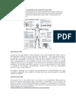 VOLUCIÓN DE LOS SISTEMAS DE IDENTIFICACIÓN