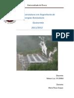 TPC - Energia Geotérmica