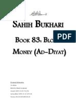 Sahih Bukhari - Book 83 - Blood Money at