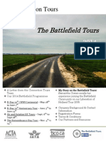 2014 Battlefield Brochure by Connection Tours
