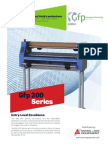 GFP  Wide Format Laminator 200  Series Brochure