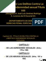 Sesión 6 Delitos contra la libertad e Indemnidad Sexuales José luis Jiménez Rodrigo