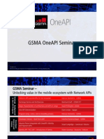 Gsma Oneapi Seminar