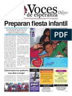 Voces de Esperanza 09 de Marzo 2014