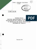 19.Organizarea Si Efectuarea Masurarilor de Sarcina Si Tensiune in Retelele de JT de Distrib Publica