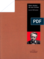 Althusser -Marx Dentro de Sus Limites