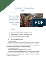 Tema Discipulos II.- Apostolado y Misión