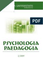 Psihologia=paedegogia