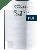 ZAGREBELSKY GUSTAVO El Derecho Por Principios 1