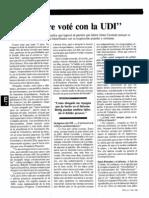Entrevista a Beltrán Urenda 1991