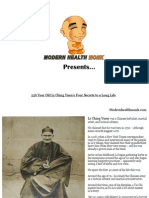 Old Li Ching Yuen Modern Health Monk