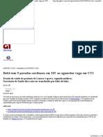 G1 - Bebê tem 5 paradas cardíacas em MT ao aguardar vaga em UTI - notícias em Mato Grosso