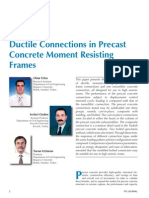Ductile Connections in Precast Concrete Moment Resisting Frames