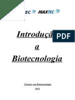 Introdu+º+úo a Biotecnologia