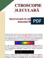 3. Spectroscopie Moleculara. IR