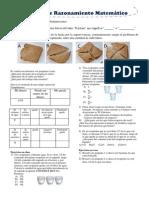 Práctica de Razonamiento Matemático fracciones 2