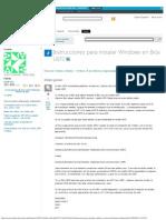 Instrucciones Para Instalar Windows en Bios UEFI