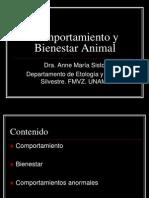 Comportamiento y Bienestar Animal