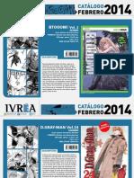 Novedades Ivrea Febrero 2014