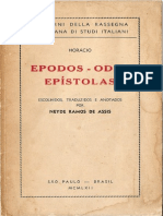 Horácio - Epodos - Odes - Epístolas
