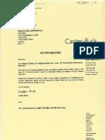 Injunction Preventing Publication Regarding Trafigura