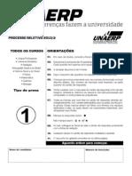 Unaerp 2013 2 Prova Completa c Gabarito Outros Cursos