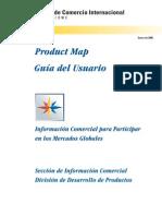 Guia Del Usuario Product Map