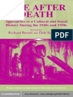 Editors Life After Death Approaches to a Cultural and Social History of Europe