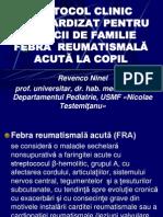 Protocol Med. Fem. FRA La Copil, 2013
