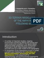 3D Terrain Modelling
