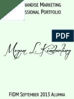 Megan Kimberling -  2014 Portfolio