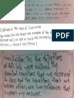 chemical reaction lab conclusions